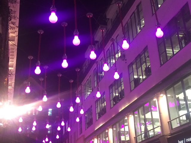 Ganton Street Christmas Lights 2015