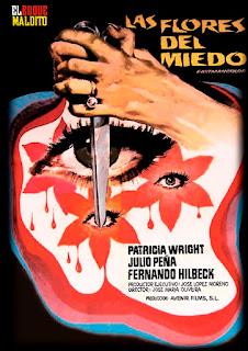 dvd de las flores de miedo, editado por el buque maldito