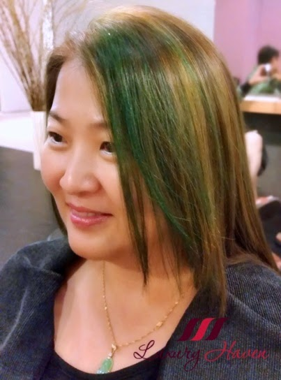 jass hair design colour highlight blogger review