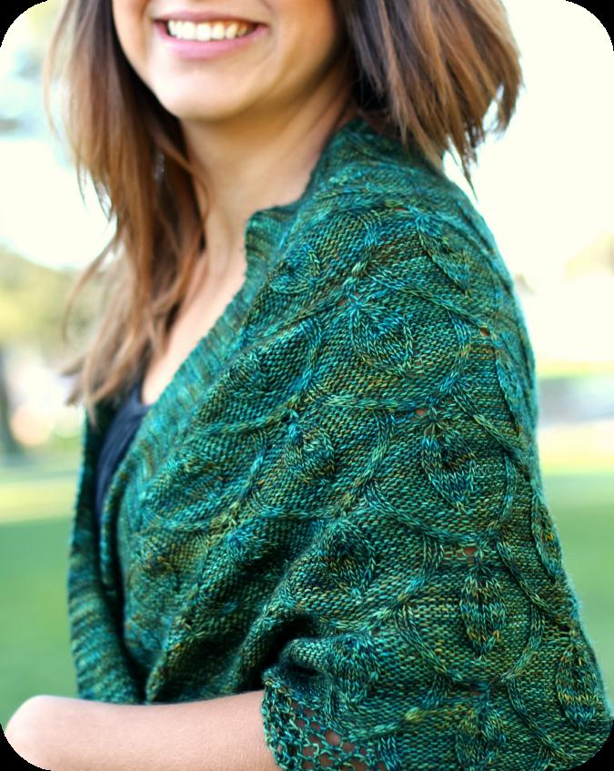 Two Color Sweater Knitting Patterns : Never Not Knitting: Secret Garden