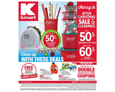 Amy 39 S Daily Dose Kmart Coupon Deals Week Of 12 27