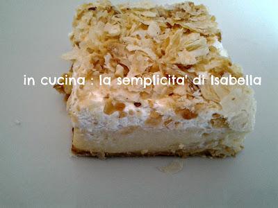 la mia torta di  sfoglia