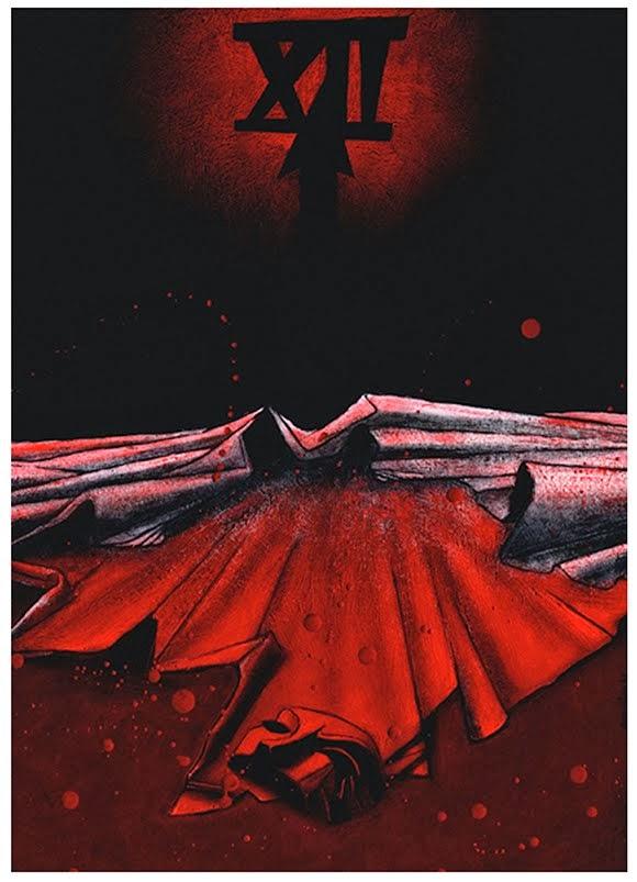 """""""La máscara de la Muerte Roja"""" 3D3"""