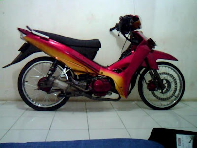 Yamaha Vega Modifikasi