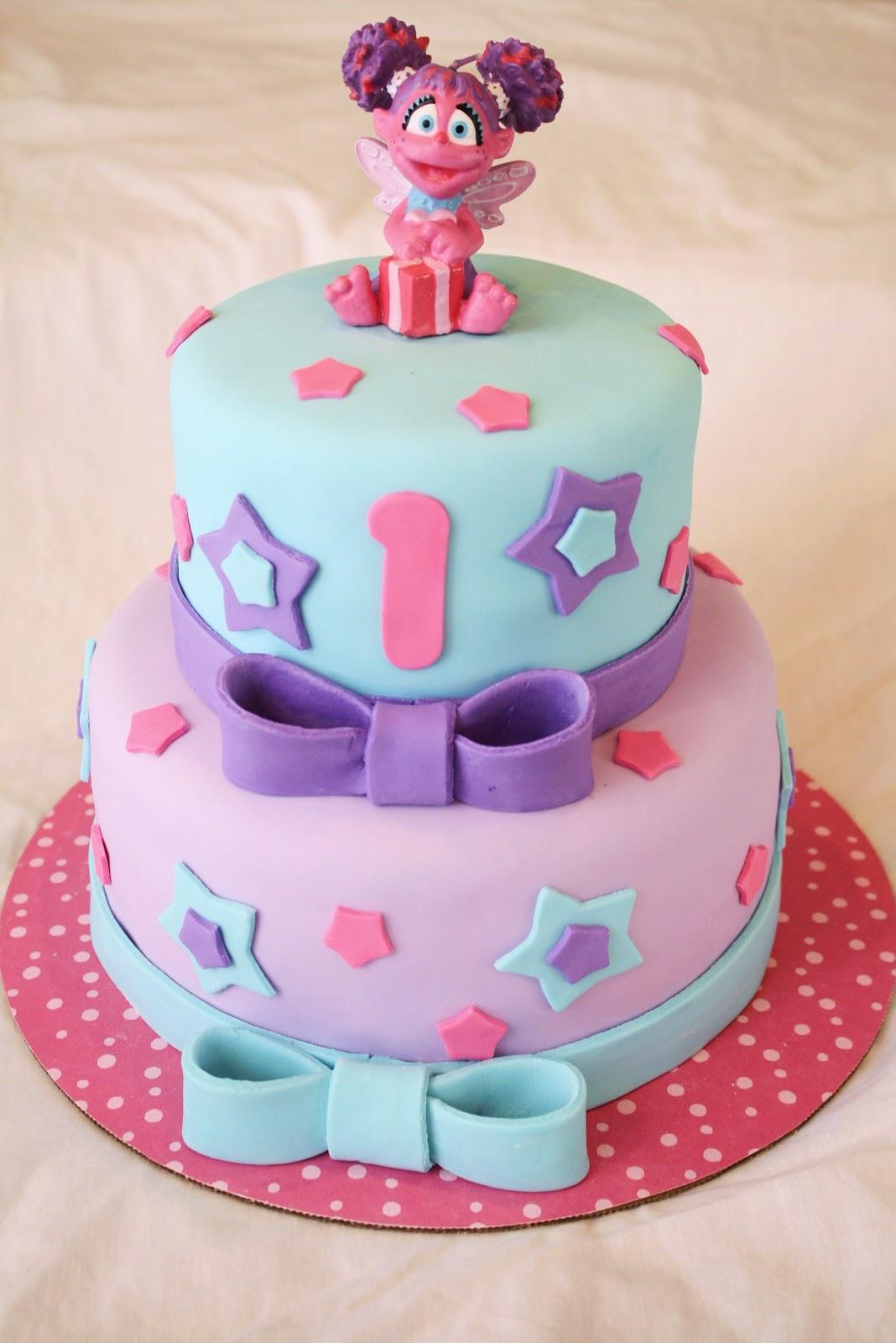 Sesame Street Abby Birthday Cake