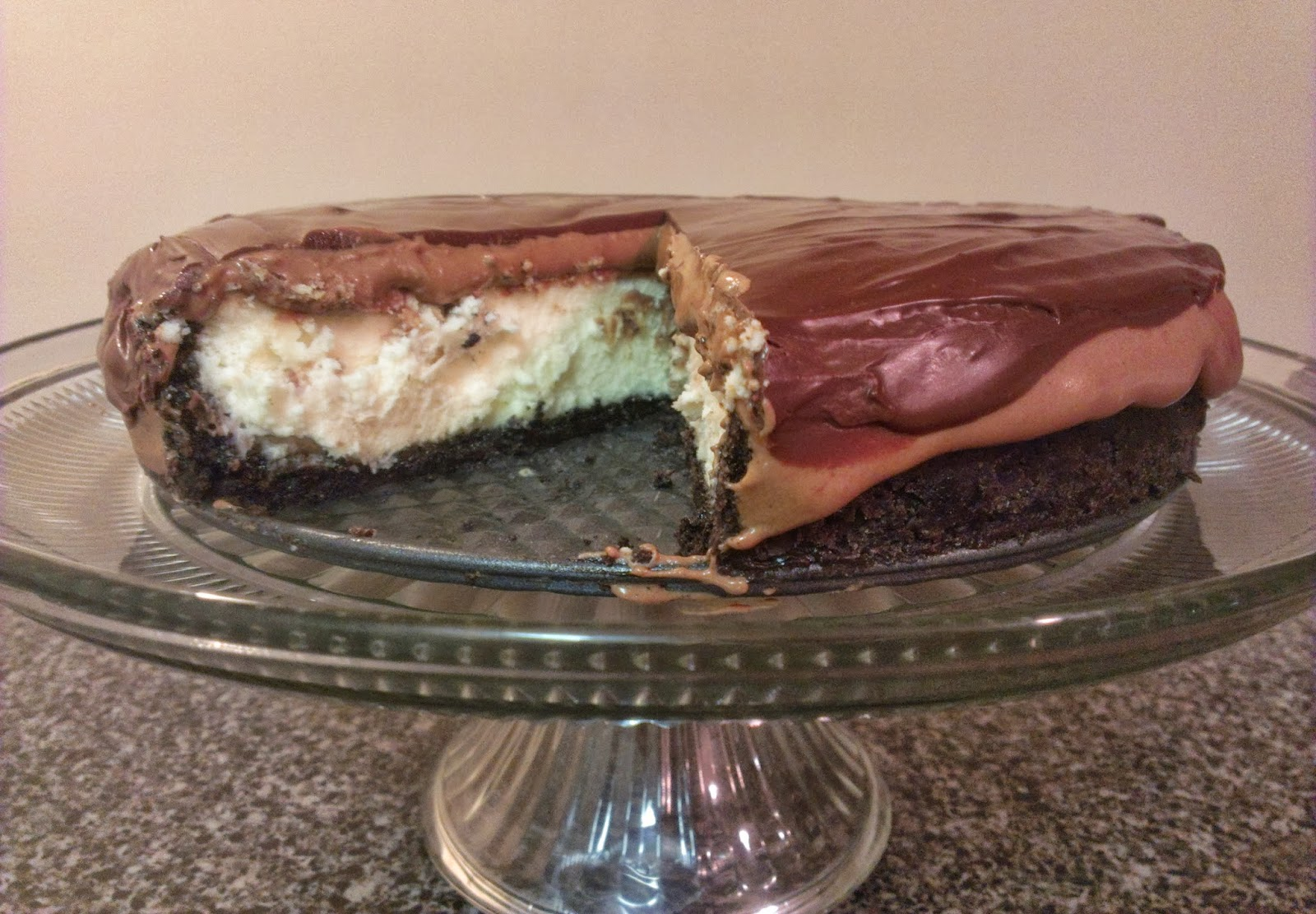 The Hungry Hood: Chocolate Mousse Cheesecake