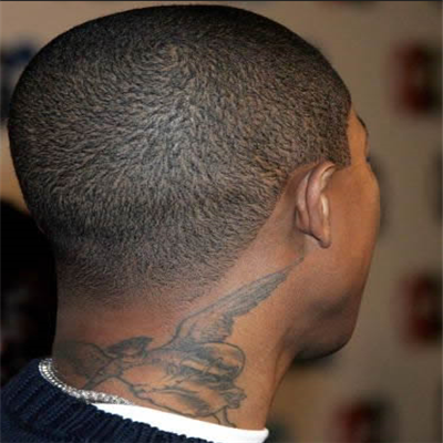 Famous Men Neck Tattoos