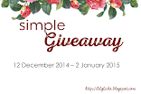 SIMPLE GIVEAWAY BY LICHA