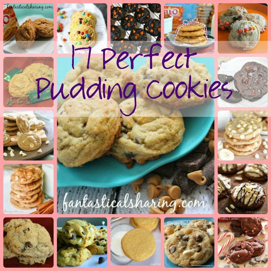 17 Perfect Pudding Cookies | Pudding mix makes the softest chewiest cookies ever and there are so many different kinds to make! #cookies