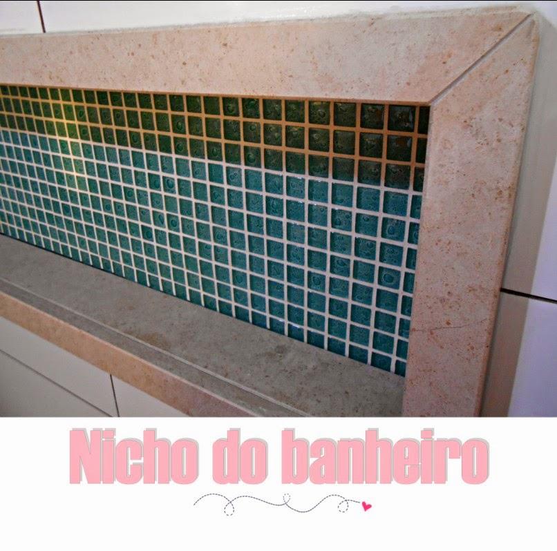Meu Palácio de 64m² Nicho do banheiro (em detalhes) -> Como Colocar Nicho No Banheiro