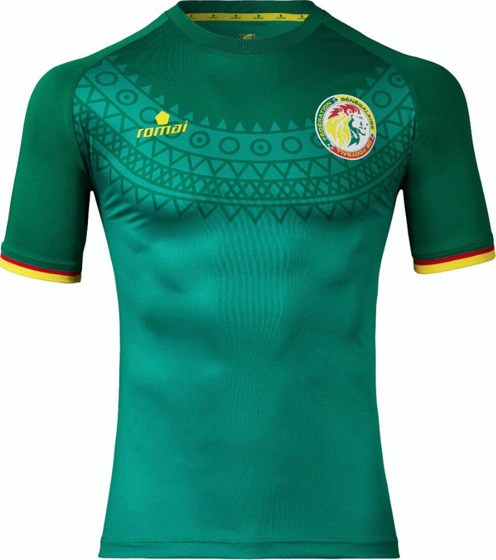 Senegal Tujuh Afcon Home And Away Kits Released Footy Headlines