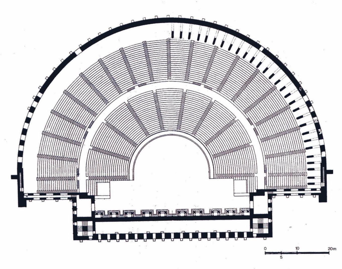 Arkeoloji Dia Antalya Aspendos Tiyatrosu Aspendos Theatre
