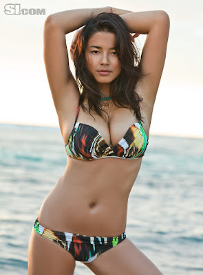 Jessica Gomes in Swimsuit