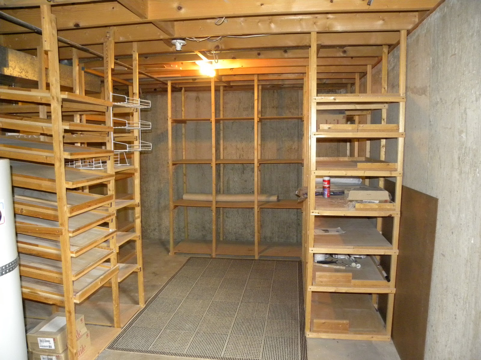 I 39 m so funny sometimes my food storage for Storage room plan