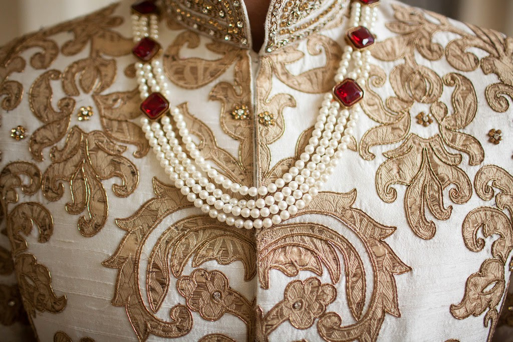 south asian wedding, indian wedding, sherwani, groom's attire