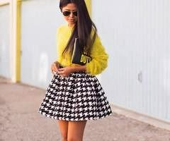 Daily City Girl | Fashion Blog: Latest Trends: Skater Skirts!