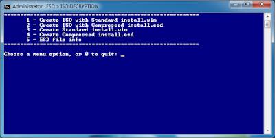 Cara Mengubah File .ESD Windows Menjadi .ISO
