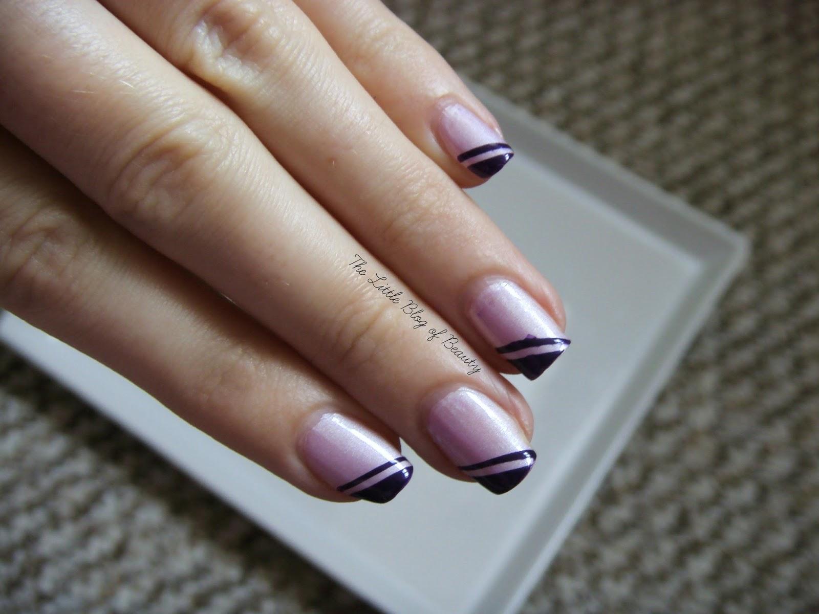 Nail art - Geometric corners