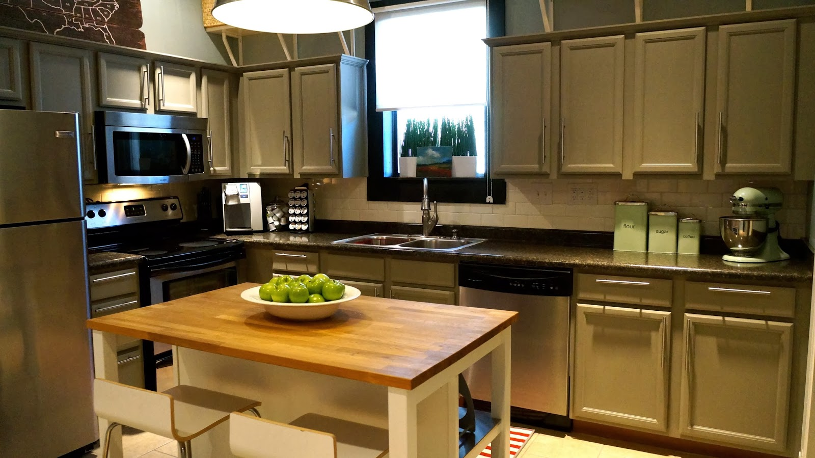 How much to replace kitchen cabinets for Annie sloan chalk paint kitchen cabinets