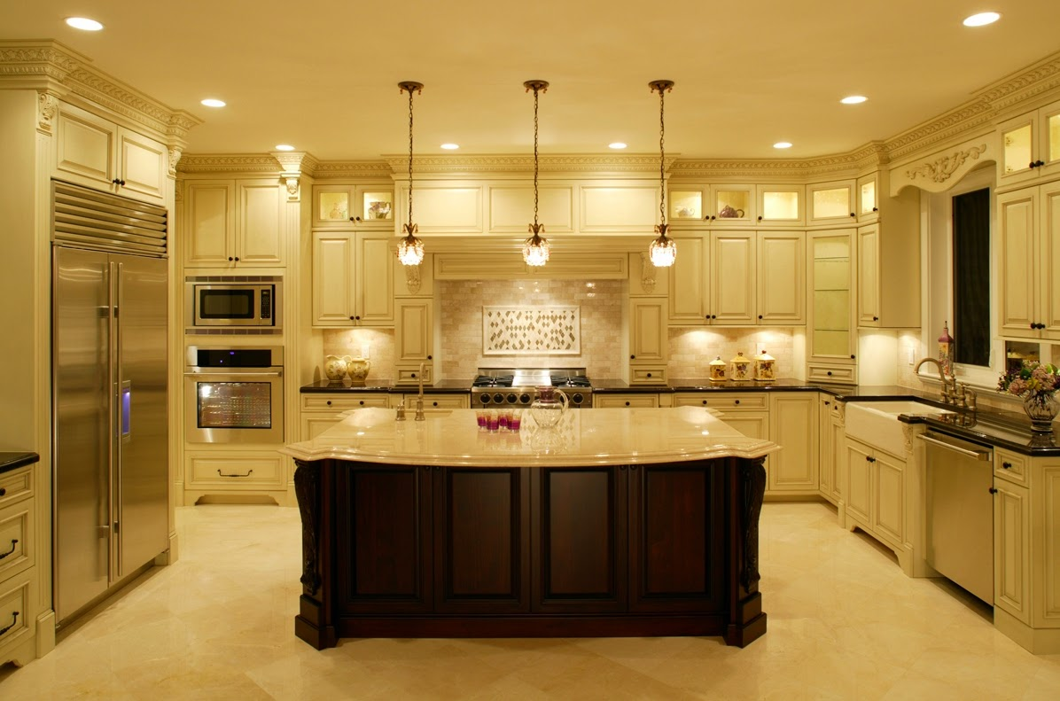 Images Of Beautiful Kitchens Enchanting With U Kitchen Designs with Islands Photos