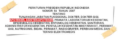 Perpres No.54 Tahun 2007