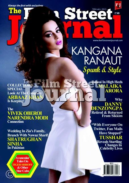 Ileana & Kangna on the cover of Different Magazines-Feb 2013