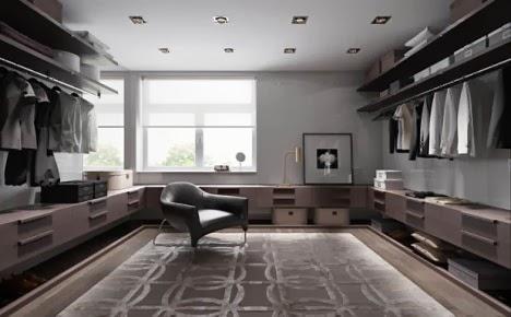 แบบห้องแต่งตัว ห้องแต่งตัวสวย ทันสมัย เป็นระเบียบ