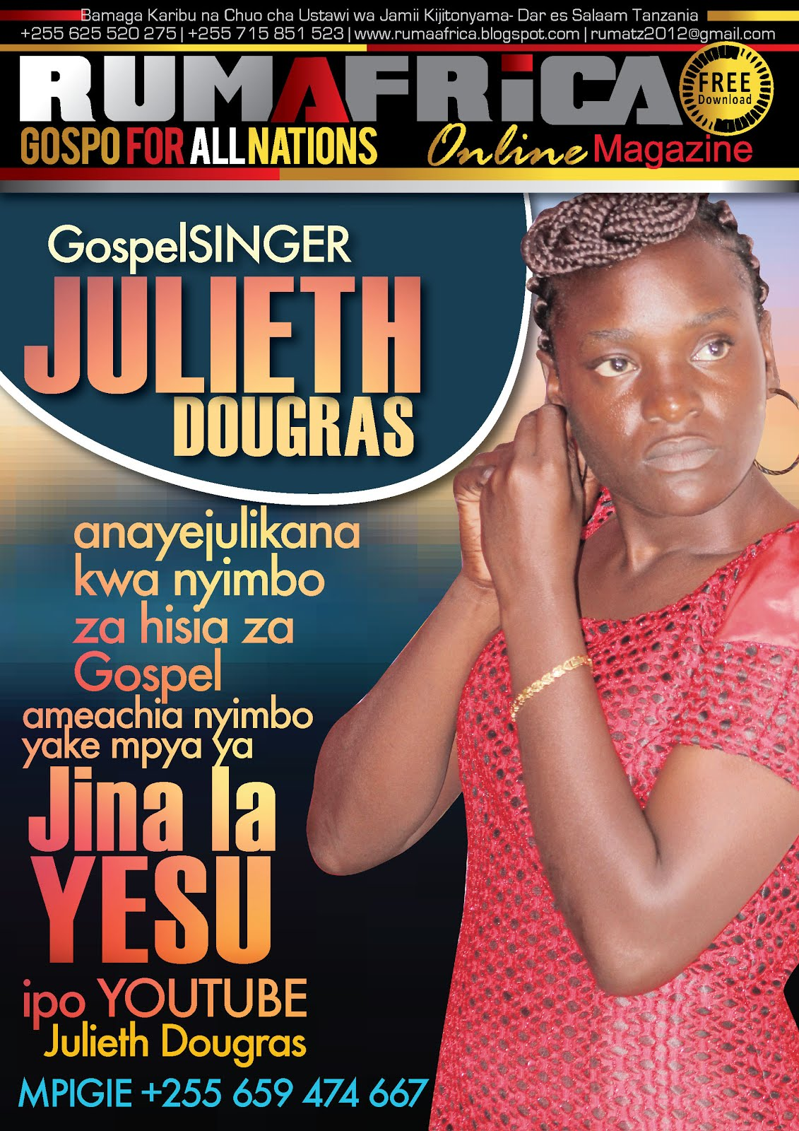 JULIETH DOUGRAS-JINA LA YESU