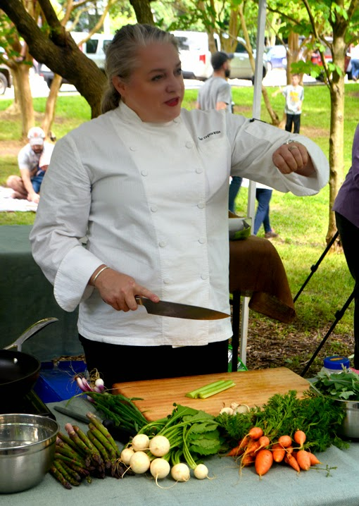 Chef Virginia Willis | Cooking Demo | Grant Park Farmers Market