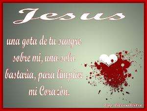 ))La sangre de Cristo tiene Poder para darte vida((