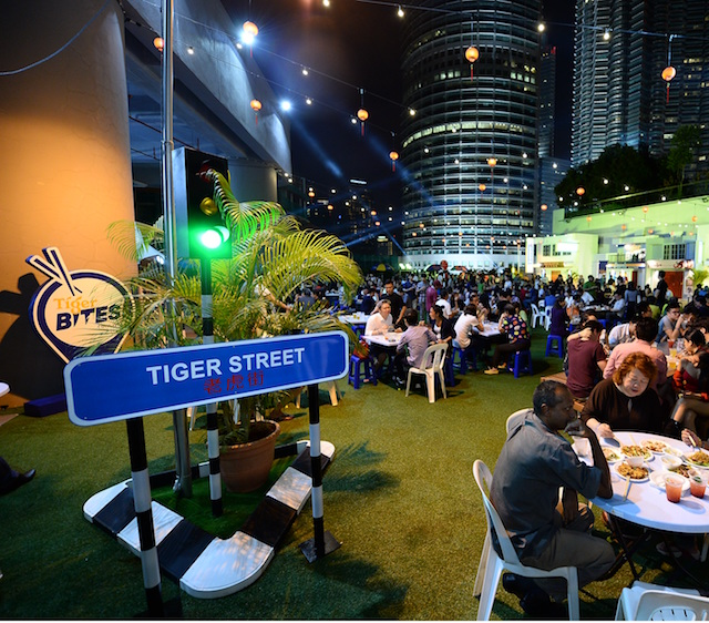 An overview of Tiger Bites Street Food Festival
