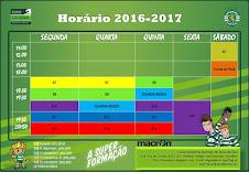 HORÁRIO 2016-2017 Provisório