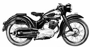 """NSU """"MAX"""" 250 cc"""