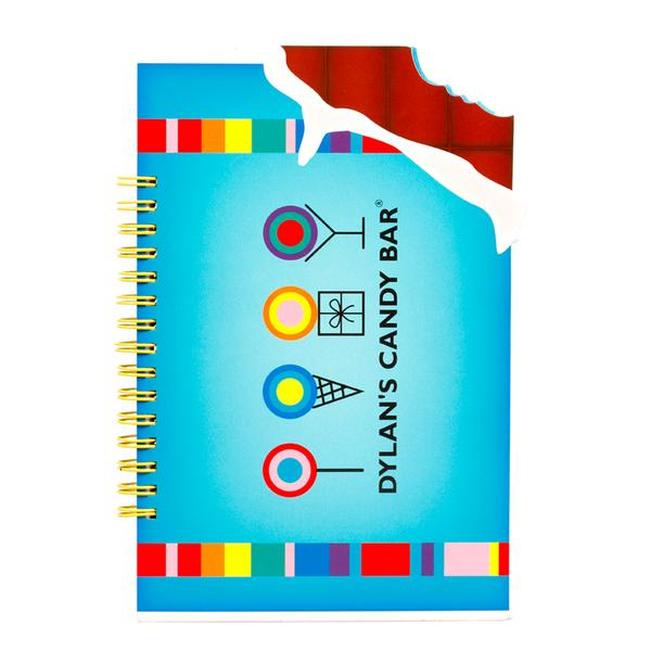 Dylan's Candy bar chocolate bar scented notebook