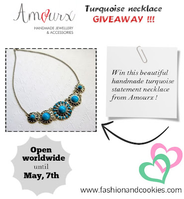 Turquoise necklace giveaway