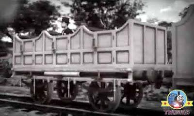 Sir Topham Hatt Edward train engine historic wooden antique carriage slice of happy birthday cake