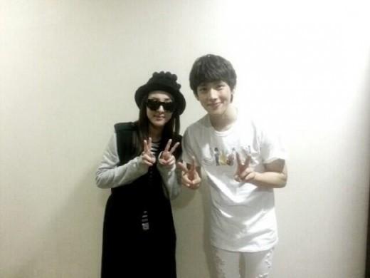 Dara 2NE1 & Siwan ZE:A