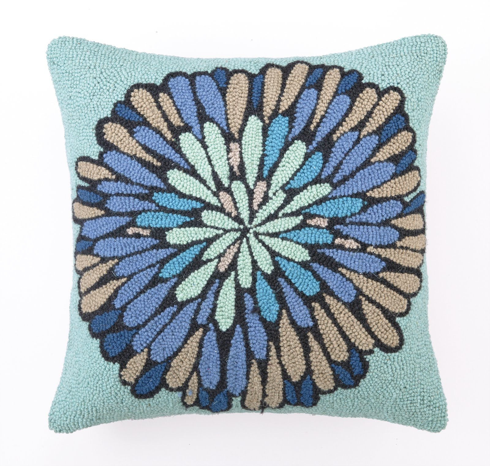 Throw Pillows With Matching Rug : Gift & Home Today: Throw rugs and matching pillows by Valori Wells