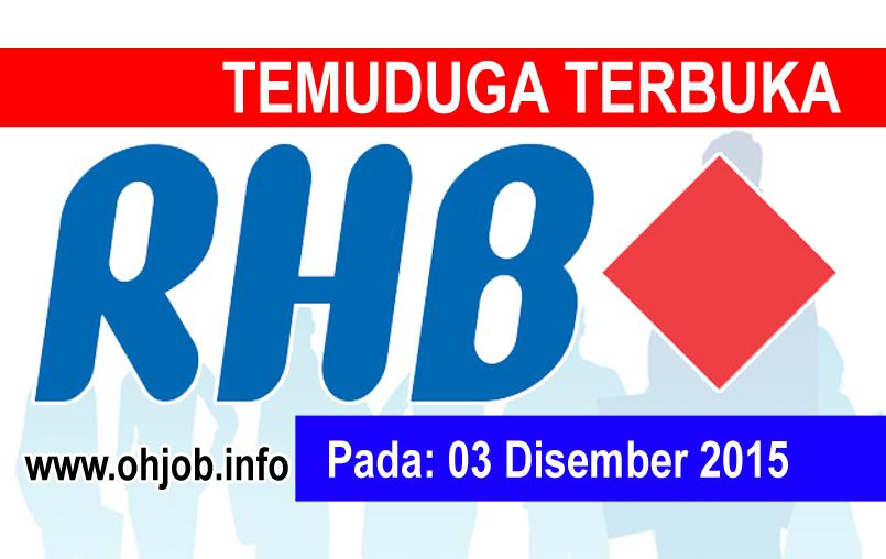 Jawatan Kerja Kosong RHB Bank Malaysia logo www.ohjob.info disember 2015
