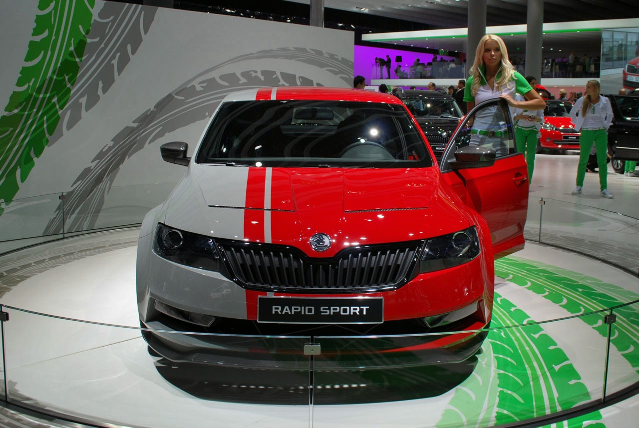 automotiveblogz skoda rapid sport concept frankfurt. Black Bedroom Furniture Sets. Home Design Ideas