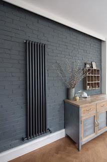 Grey Painted Brick