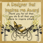 Designer That Inspires Me Award