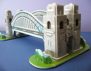 puzzle 3d world's great architecture Sydney Harbour Bridge