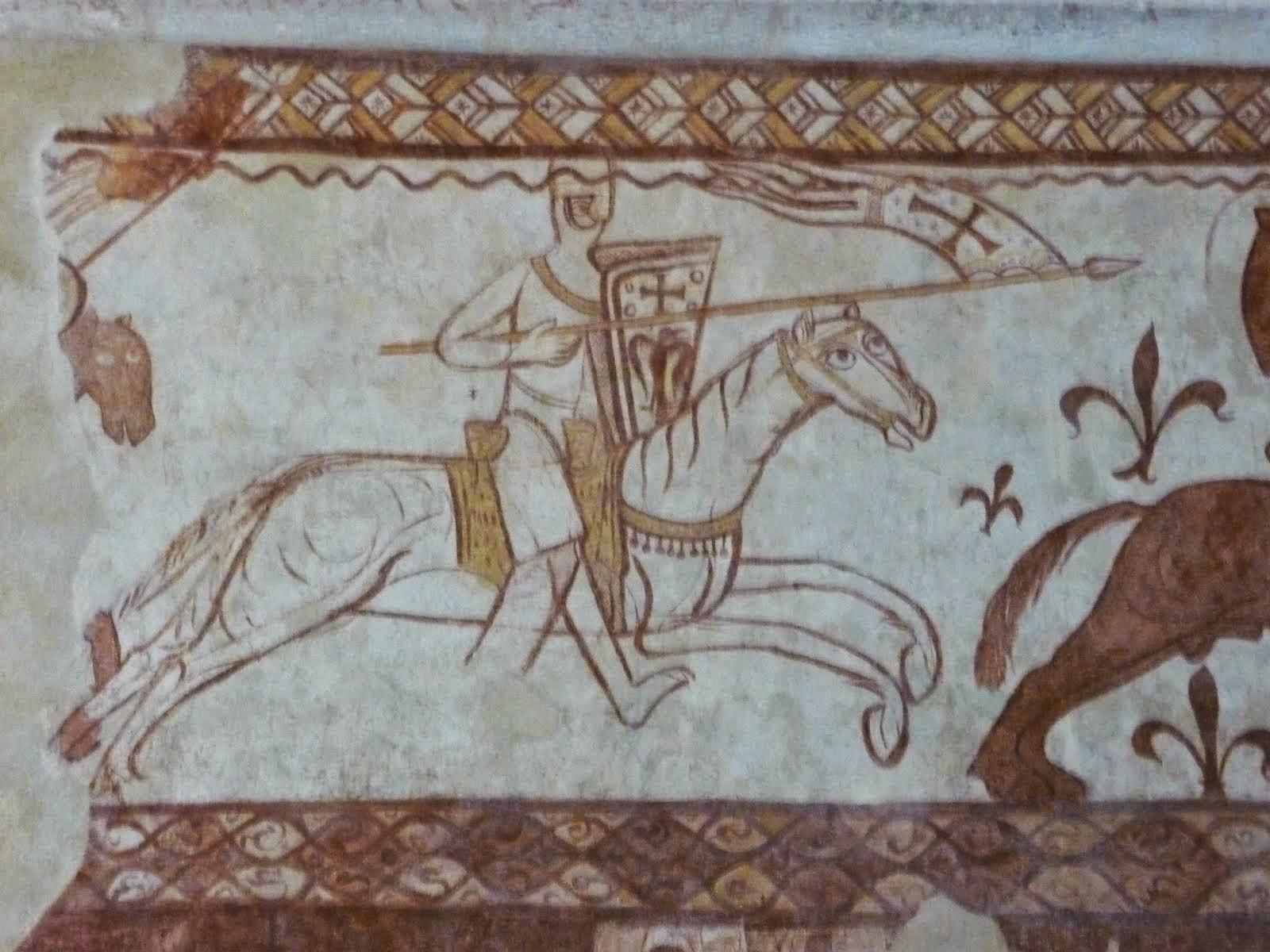 Templiers Chapelle detail