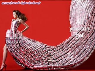 Sıradışı Elbise Tasarımları