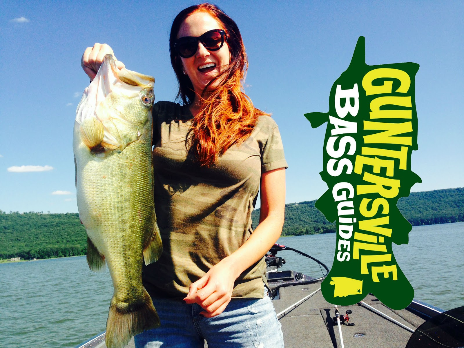Lake guntersville fishing report for Seven b s fishing report