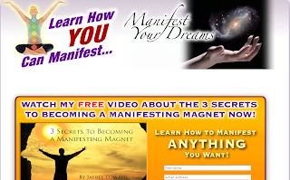 free manifesting magnet training program webpage