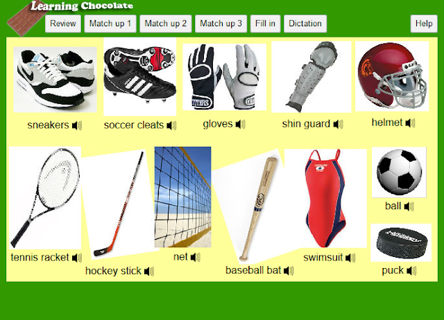 http://www.learningchocolate.com/content/sports-equipment