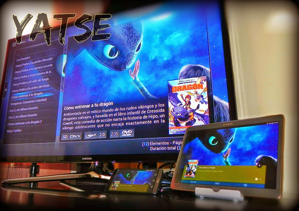 YATSE : El mejor mando virtual para XBMC / KODI