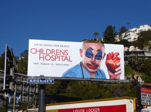 Childrens Hospital season 7 billboard